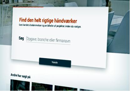 Ultra Find den helt rigtige håndværker - håndværker.dk DX48