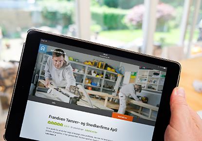 Utroligt Find den helt rigtige håndværker - håndværker.dk GI25